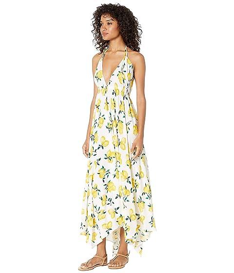 95aa16e9705 Kate Spade New York Lemon Beach Halter Maxi Dress Cover-Up at Luxury ...