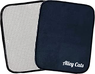 Bowling Ball Shammy | Black Microfiber with EZ Grip Back | Best Value Around | Premium Polisher/Cleaner Towel Pad
