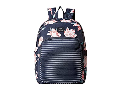 Roxy Winter Waves Backpack (Mood Indigo Tandem) Backpack Bags