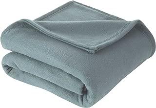 Martex Super Soft Fleece Blanket - Full/Queen, Warm, Lightweight, Pet-Friendly, Throw for Home Bed, Sofa & Dorm - Dusty Blue