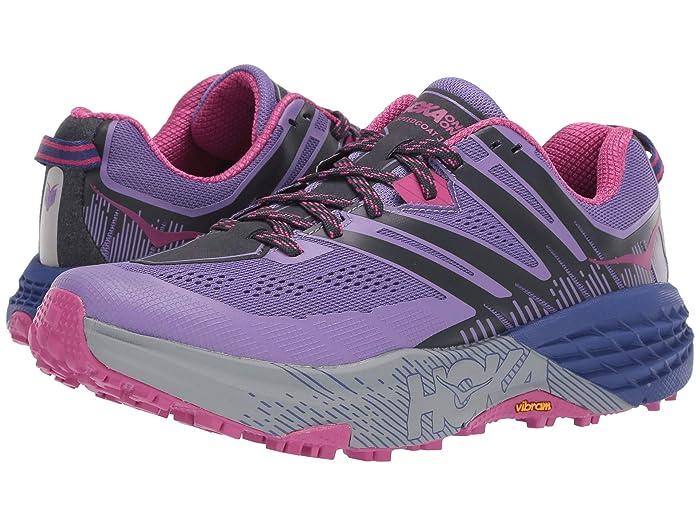 Hoka One One  Speedgoat 3 (Paisley Purple/Ebony) Womens Shoes
