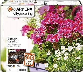 Arrosoir Automatique Balcons et Terrasses de Gardena: Kit d'Arrosage pour Jardinières de Balcon jusqu'à 6 M (1407-20)