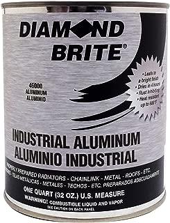 Diamond Brite Paint 46000 1 Quart Aluminum Paint