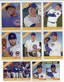 2015 Topps Heritage Team Set- Chicago Cubs (13 Cards)> Jason Hammel,