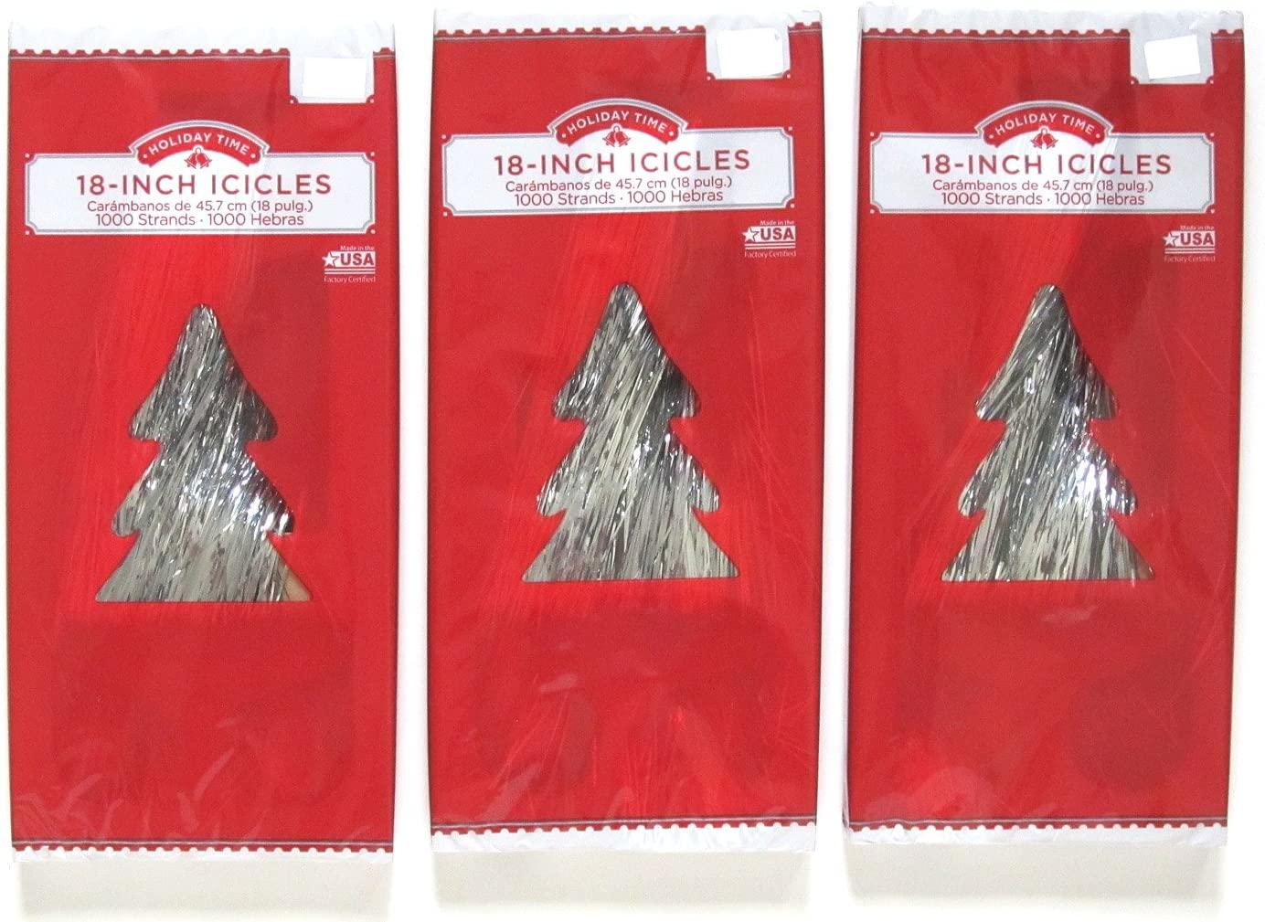 SILVER ICICLES Bombing free shipping 2000CT Trust