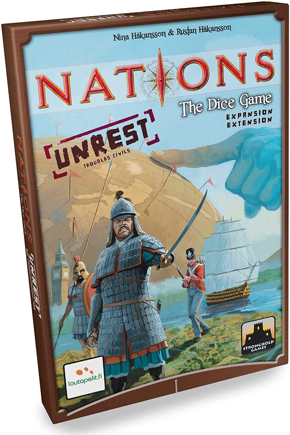Laut Apelit LAU00044–Nations The Game: Mail order Dice Unrest sold out