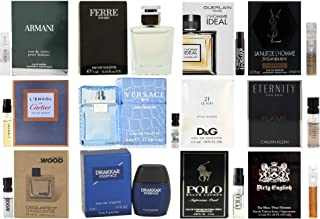 Pilestone's Selection: Men's Designer Fragrance Samples - 12ct Cologne Vials