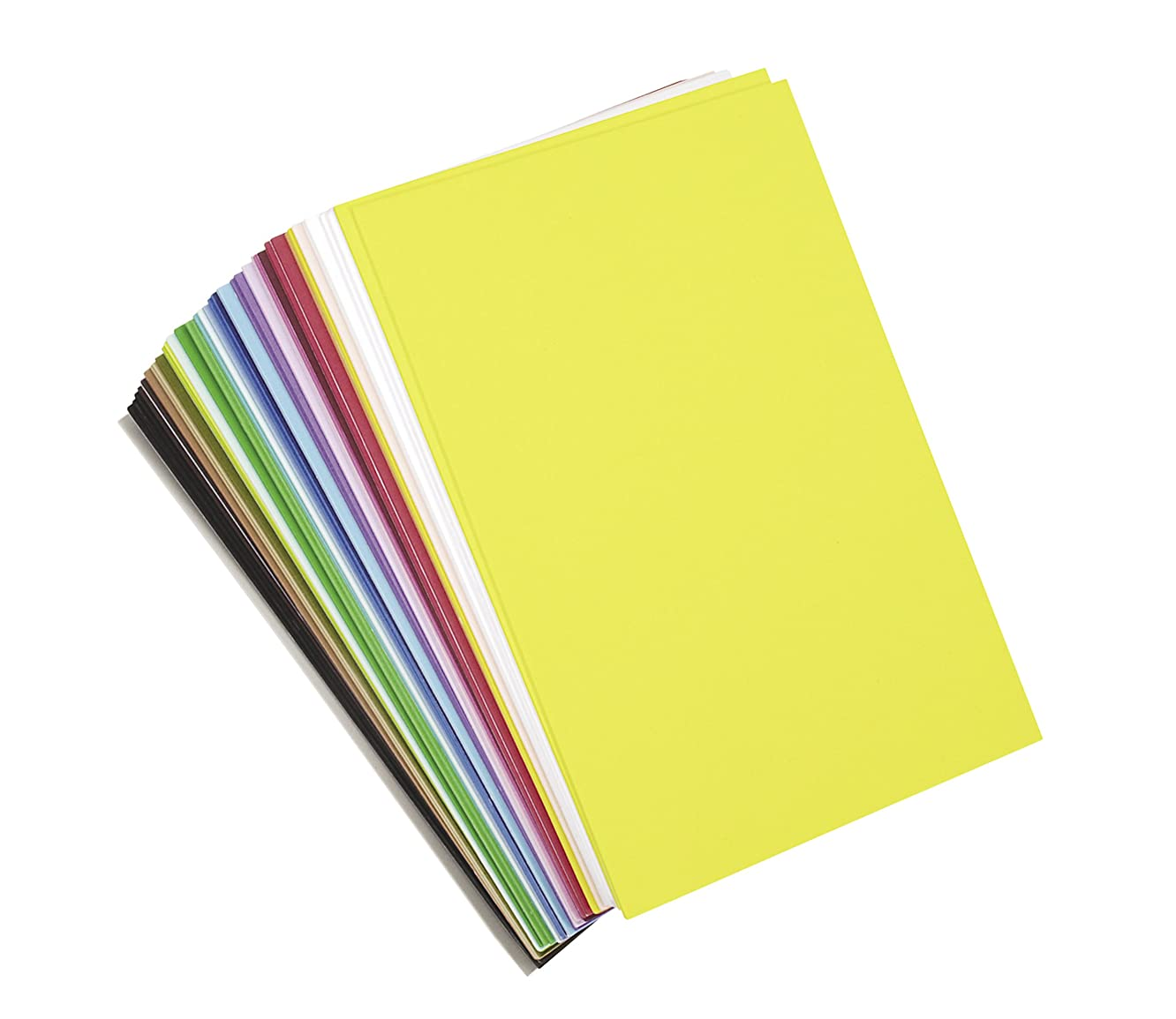 """Darice Foamies Foam Sheets Multipack – Assorted Vibrant Colors – Great for Craft Projects with Kids, Classrooms, Camps, Scouts, Parties – 6"""" x 9"""" Per Sheet, 40 Sheets Per Pack"""