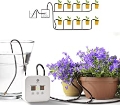 [Upgraded] Automatic Drip Irrigation Kit, Houseplants Self Watering System with 30-Day Programmable Timer and 5V USB Charging Cable, for 10 Potted Plants