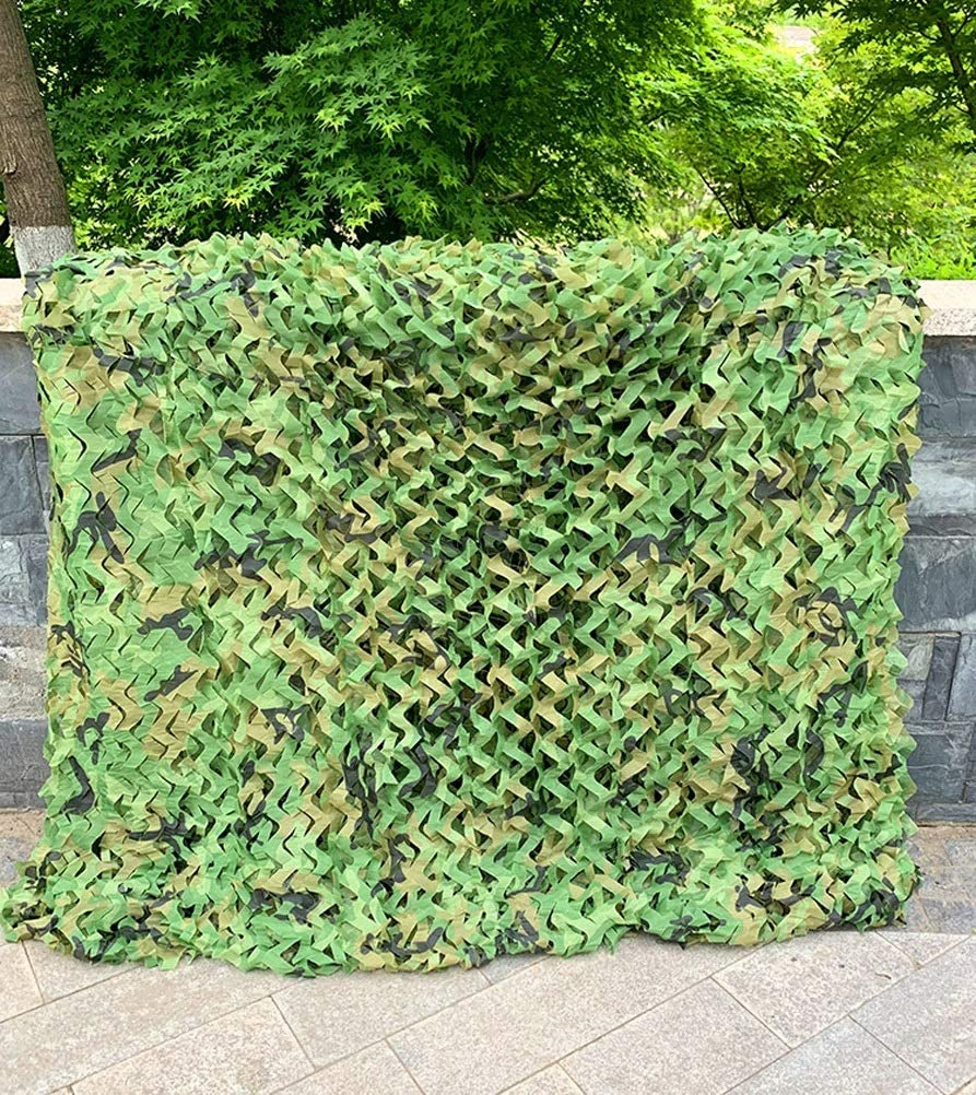 Hyffdj Outdoor Hunting Military Memphis Mall Camouflage OFFicial site Net 9X10m Woodland 29