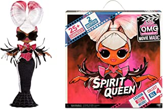 LOL Surprise OMG Movie Magic Spirit Queen Fashion Doll with 25 Surprises Including 2 Fashion Outfits, 3D Glasses, Movie Ac...
