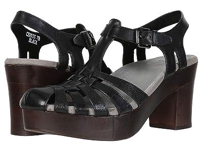 Earth Cerris (Black Soft Calf) High Heels
