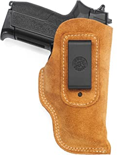Tanfoglio Witness Compatible Holster - IWB Suede Leather Holster - Old-World Craftsmanship (IB3)