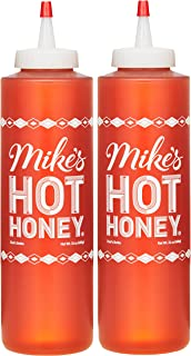 Mike's Hot Honey 24 oz Chef's Bottle (2 Pack), Honey with a Kick, Sweetness & Heat, 100% Pure Honey, Gluten-Free & Paleo
