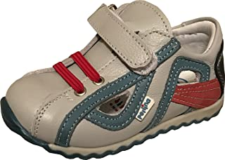41c2785332 PERLINA Boys Shoes Diyarbakır 1208-1 Turkish Orthopedic Leather Summer  Sandals with Arch Support