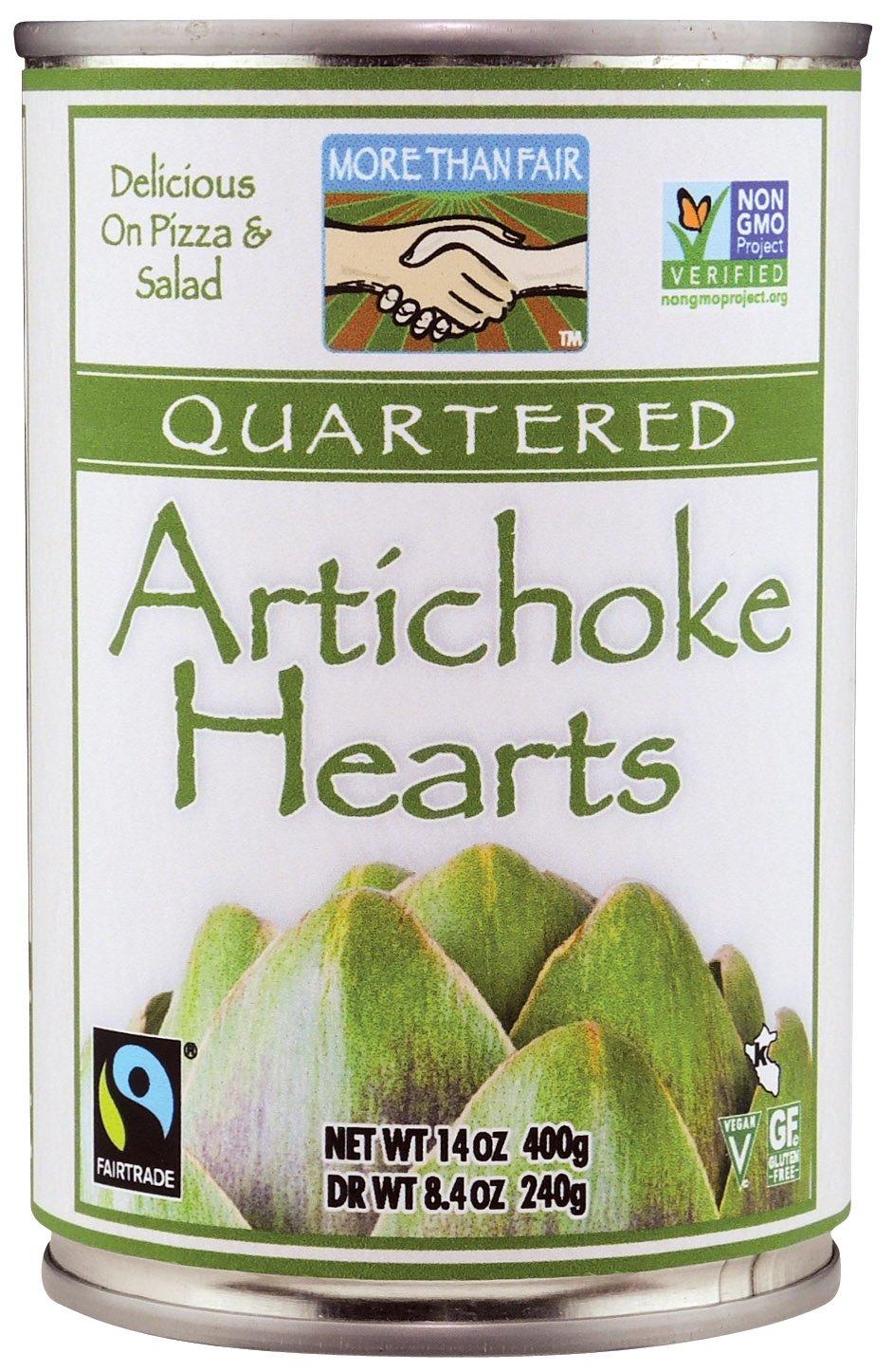 More Than Fair Quartered Artichoke Can Genuine Hearts Ounce Popular brand 14