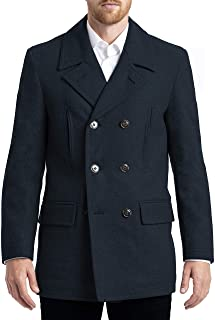 CHAPS Men's All-american Authentic Style Peacoat