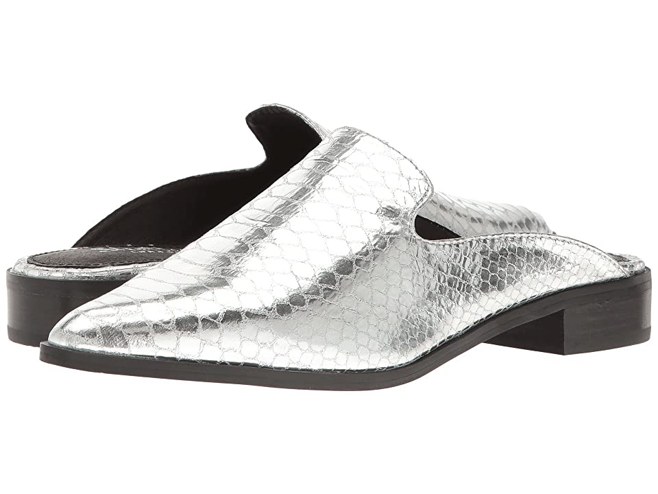 Shellys London Cantara Mule (Silver Leather) Women