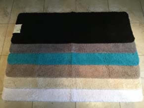 Cazsplash Luxury Microfibre Bath Runner Mat, Microfibre, cream, 150 x 50 x 2.5 cm