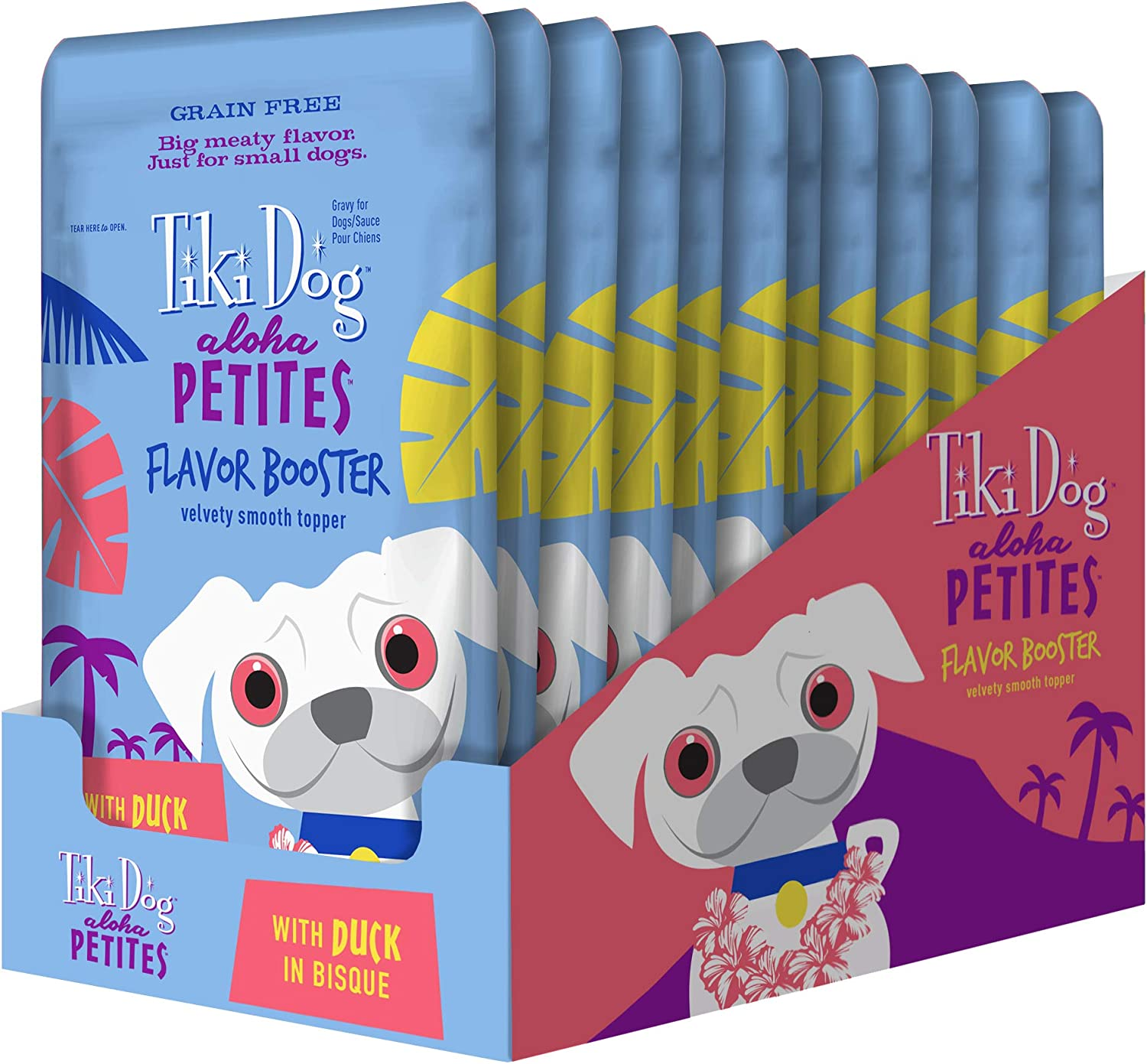 Ranking TOP13 Tiki Dog Aloha Petites Flavor Booster of Chunks with Broth Meaty Surprise price