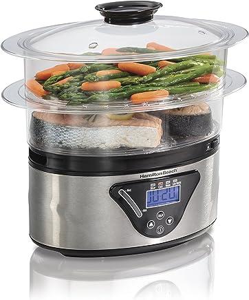 Hamilton Beach Digital Food Steamer - 5.5 Quart (37530A)