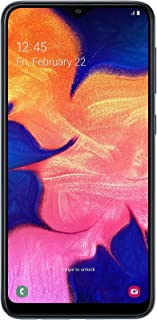 Samsung Galaxy A10 Dual SIM 32GB 2GB RAM 4G LTE (UAE Version) - Black