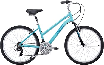 REID Girl's Comfort MTB WSD New 40cm Hybrid Bike - Teal