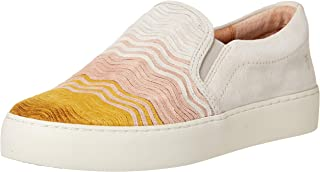 Frye Women's Lena Wave Slip On Sneaker, Honey Multi, 6 M US