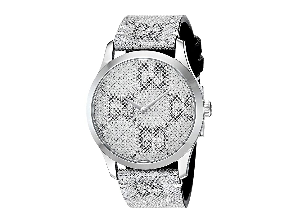 3664bacd5be ... UPC 731903450639 product image for Gucci G-Timeless - YA1264058  (Silver) Watches ...
