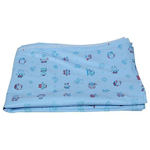 SuperBaby Babies PVC Plastic Bed Protector (Multicolor)