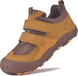MARITONY Kids Hiking Shoes Boys Girls Outdoor Trekking Athletic Shoe Anti Collision Non Slip Trail Running Walking Sneaker...
