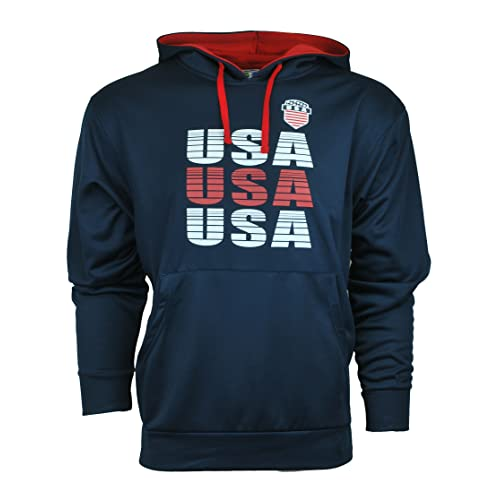 9ca465b9ed75 IconSports Soccer Athletic Unisex Hoodie Sweatshirt