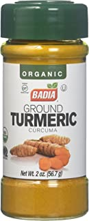 Badia Organic Turmeric Ground, 2 Ounce (Pack of 12)
