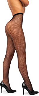 sofsy Netzstrumpfhose - mit hoher Taille - Dessous Nylons Made In Italy