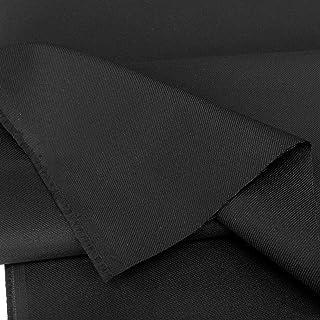 TOLKO Camouflage Stoff im Desert Ripstop Flecktarn der finnischen Armee | Robust Farbecht UV-beständig | Uniform Meterware aus Baumwoll-Gewebe | mittelschwer 150cm breit Schwarz