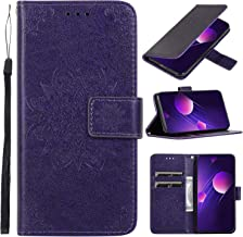Leather Wallet Case for iPhone XR Wallet Folding Flip Case with Kickstand Card Slots Magnetic Closure Protective Coverfor Apple iPhone XR – TTCDD010052 Purple Estimated Price : £ 7,19