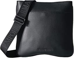 Tumbled Leather Small Messenger Bag