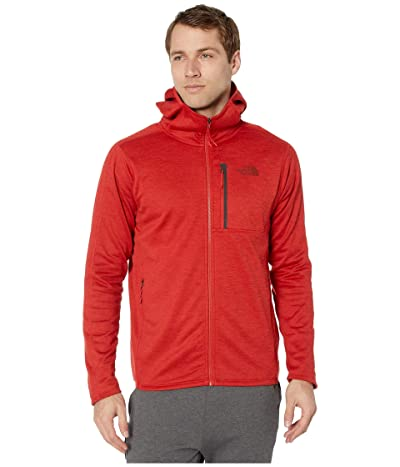 The North Face Canyonlands Hoodie (Pompeian Red Heather) Men