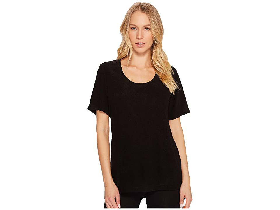 N by Natori Terry Lounge Top (Black) Women