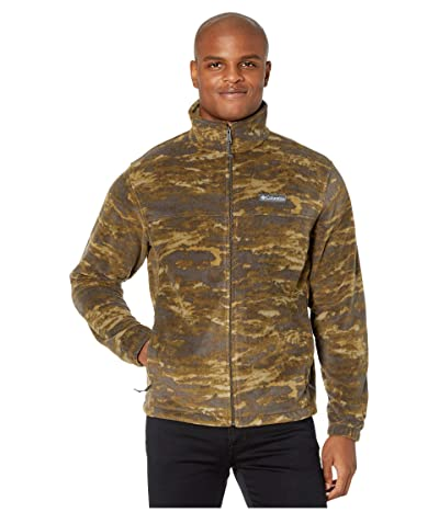 Columbia Steens Mountaintm Printed Jacket (Olive Green Texture Camo) Men