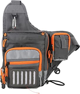 M MAXIMUMCATCH Maxcatch Fly Fishing Sling Pack Adjustable Backpack Fishing Sling Bag