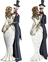 Design Toscano QS923564 Skeleton Bride and Groom Statues: Set of Two
