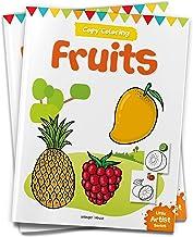Little Artist Series Fruits Copy Colour Books