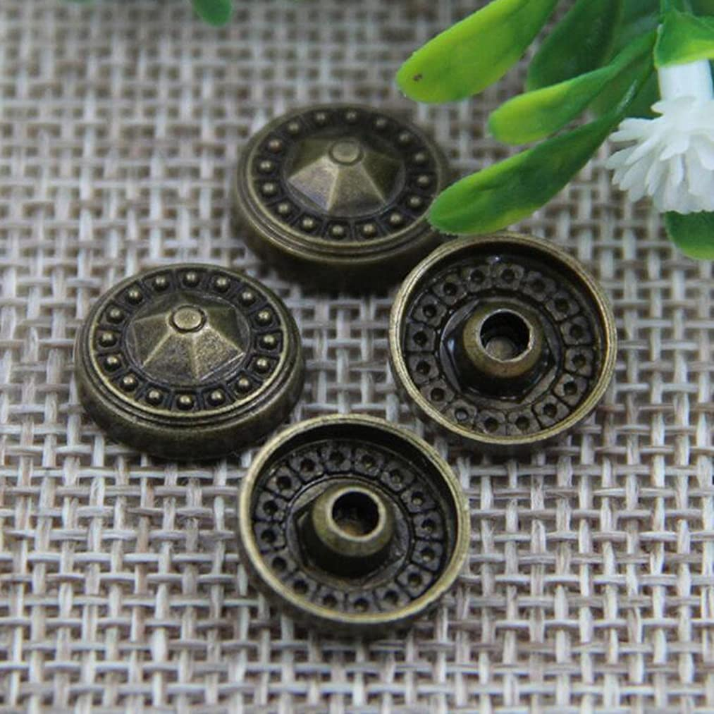 50pcs New Convex Nail Large Round Metal Accessories Leather Decorative Rivets Environmental Cap Nails