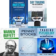 Stock Trading Strategies: 4-Book Bundle – Stock Market Investing for Beginners + Day Trading for Beginners + Warren Buffett + Penny Stocks + BONUS Content: Trading Psychology of Millionaire Investors