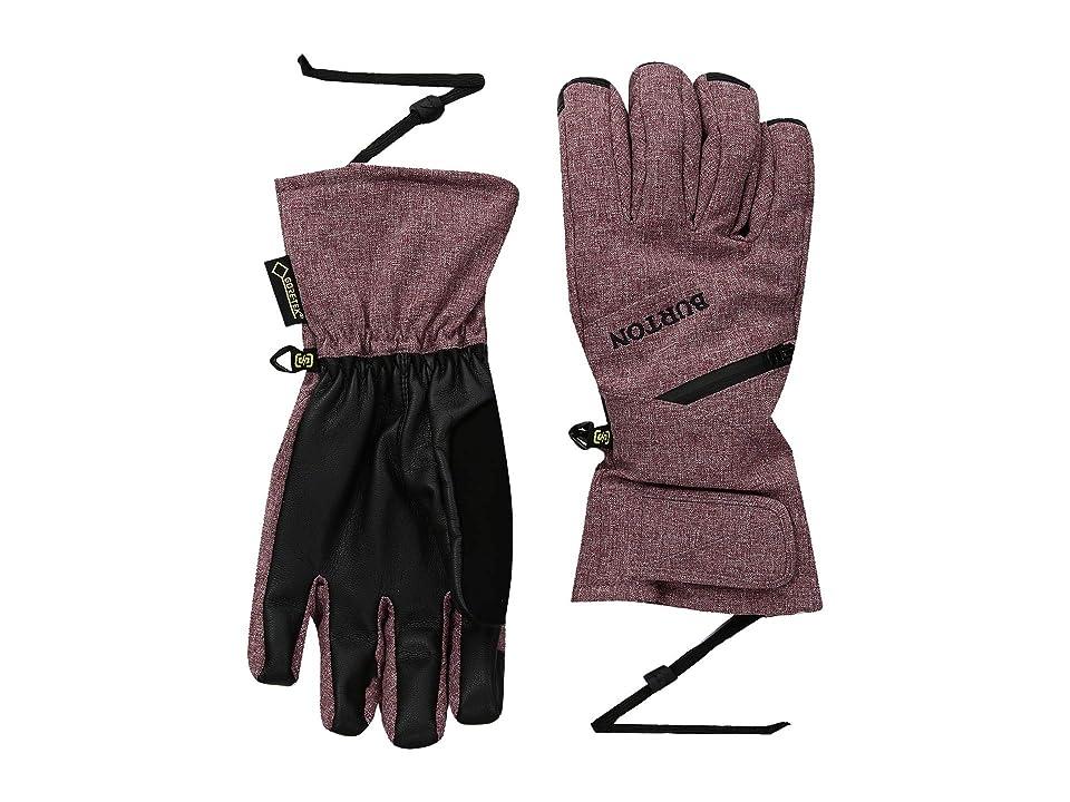 Burton WMS GORE-TEX(r) Under Glove (Port Royal Heather) Snowboard Gloves