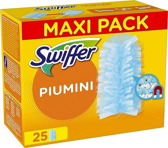 6519 opinioni per Swiffer Duster Piumini Cattura Polvere, 25 Panni, Cattura e Intrappola Polvere e