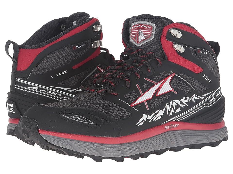 Altra Footwear Lone Peak 3 Mid Neoshell (Red) Men