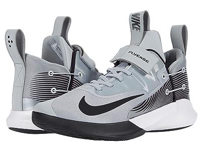 Nike FlyEase Precision IV (Light Smoke Gray/Black/White) Men