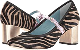 Black/Taupe Zebra Haircalf